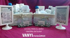 cestas baño boda personalizadas