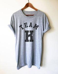 Team K Unisex T-Shirt -  | Teacher shirt | Kindergarten teacher | Teacher gift | Pre k shirt | Teacher team shirt |