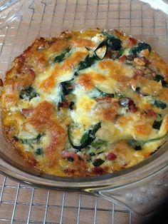 Uit mijn keukentje: Spinaziequiche met courgette en zongedroogde tomaa...