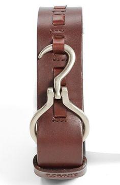 Sperry Top-Sider® Leather Belt   Nordstrom