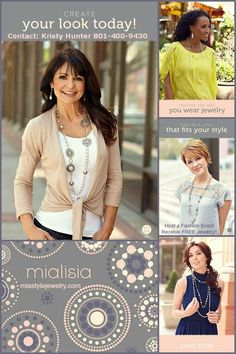 Learn more about the concept, the jewelry, the opportunity at miastylejewelry.com