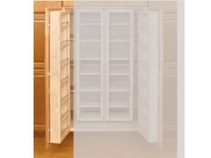 Rev-A-Shelf RS4WDP18-57 57 in. H Swing Out Pantry Organizer Door Unit with Hardware, Single
