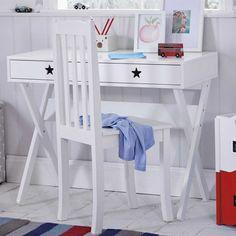 Star Bright Desk & Nelson Chair Set
