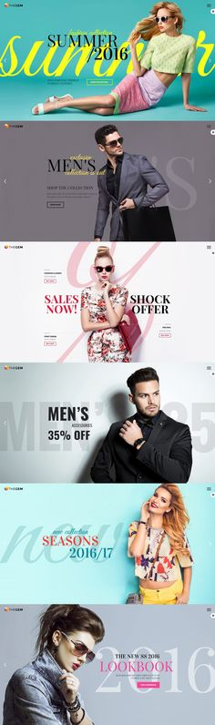 One the many version of this creative theme. These look books can be use for different type of presentation. Example you can see is designed for fashion purposes but you can find plenty of others in the author's portfolio.