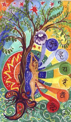 chakra art, love it.