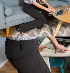 Dress Pant Yoga Pants: Quite simply the comfiest pants you'll ever wear to work.
