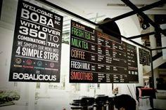 Boba Restaurant Branding   Restaurant branding, marketing and other notes on various design topics