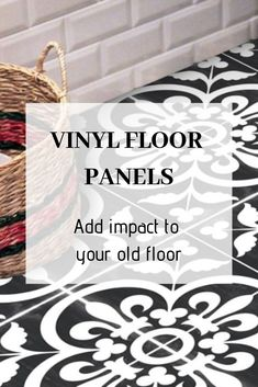 Discover our floor stickers and create your dream home! An easy DIY solution to makeover your rooms! #floor #stickers