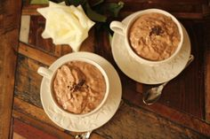 "Chocolate ""Tapioca"" Pudding"