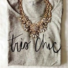to Stitchfix: love the look of statement necklaces to dress up a t