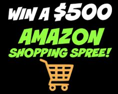 BlackFriday-$500 Amazon Shopping Spree! Nov. 15-25, 2015