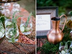 "Jenna Henderson, Photographer: Nashville Wedding Photographer - ""Lucky In Love"" Copper & Emerald Wedding Inspiration -"