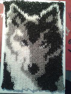 Wolf 2182 Looms, mit nur einem Gummi geloomt