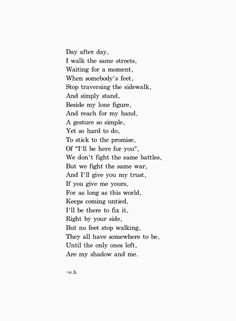 I love this poem as I love all of Erin Hanson's poems. They are all so good with such great messages.