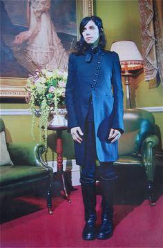 PJ Harvey in Ann Demeulemeester