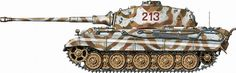 King Tiger Camouflage Patterns | PICS] Tiger II Camouflage Patterns