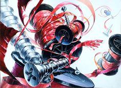Spiderman, Art Drawings, Superhero, Anime, Fictional Characters, Spider Man, Cartoon Movies, Anime Music, Fantasy Characters