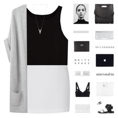 //m o n o c h r o m e// by lion-smile on Polyvore featuring Organic by John Patrick, Alexander Wang, Acne Studios, Charlotte Russe and Forever New