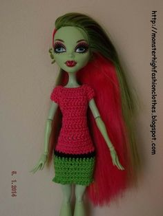 Si te gusta este modelo, no dudes en visitar mi tienda: http://mymonsterhighboutique.dawanda.com If you like this model, don't doubt, visit my shop: http://mymonsterhighboutique.dawanda.com