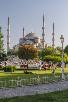 Sultanahmet Park, İstanbul (Turkey). 'History resonates when you stand in this garden between the Blue Mosque and Aya Sofya. Book-ended by the Roman-era Hippodrome and a modern-day tourist enclave where remnants of the Great Palace of Byzantium provide decorative flourishes, the park offers more than peerless photo opportunities – it visually reinforces İstanbul's claim to be the greatest city in the world.' http://www.lonelyplanet.com/turkey/istanbul