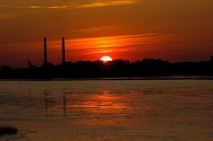 Sonnenuntergang Wedel | pixelpiraten.net