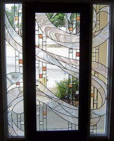 'swirl' design.* by ambient stained glass.