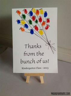 Image result for Thank You Card Ideas for Teachers