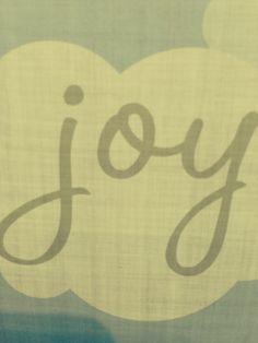 Joy in a cloud