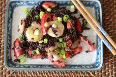 Forbidden Rice Salad with Shrimp | WeeklyGreens.com