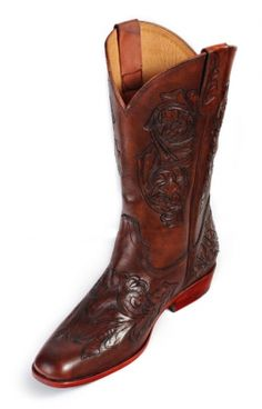 Luxury Cowboy boot 9201 . Elevator Shoes for Men