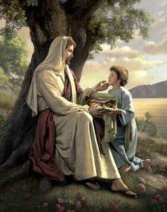 Be inspired with our selection of LDS Jesus Christ Prints including this He Will Make It More - Print. Arte Lds, Simon Dewey, Johannes 3, Pictures Of Jesus Christ, Lds Art, Jesus Art, Jesus Is Lord, New Testament, Christian Art