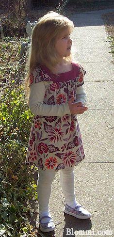 Wildflower Mini Dress & Sparkle Stripe Leggings