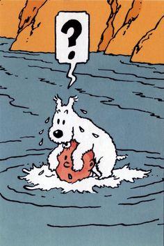 Tintin and Snowy Tin Tin Cartoon, Cartoon Art, Captain Haddock, Herge Tintin, Little Brothers, Bd Comics, Popular Art, Fox Terrier, Space Crafts
