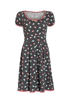 marylins cottage dress, birds of berlin, Kleider, Schwarz