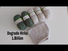 Degrade Hırka Yapımı 1.Bölüm - YouTube Crochet Coat, Fur Slides, Make It Yourself, Youtube, Salons, Makeup, Fashion, Toddler Cardigan, Knit Vest