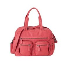 OiOi faux buffalo carry-all is absolutely beautiful, extremely soft, and simply a fantastic diaper bag. Baby Nappy Bags, Diaper Bags, Baby Buffalo, Baby Changing Bags, Carry All Bag, Online Bags, Fashion Backpack, Pink, Leather