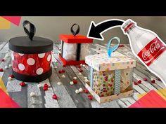 ♻️ Cómo hacer Cajitas de Regalo reutilizando botellas de Plástico 🍾 🍾 - YouTube Cd Crafts, Diy Crafts For Gifts, Diy Home Crafts, Paper Crafts, Origami, Youtube, Home Decor, Tips, Toddler Arts And Crafts