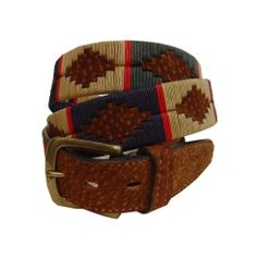 Oliver Brown's line of men's belts include David Carpincho Argentine polo belt. Currently out of stock, but a definite for my wish list. GBP 49.