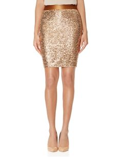 Sequin Pencil Skirt   Fully Lined Pencil Skirt   THE LIMITED