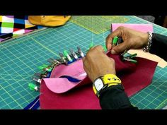 ▶ How To Make a Leather Bucket Bag Part 2 of 4 - YouTube
