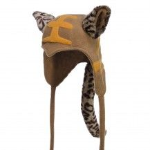 Arctic Fox, cool kids ski cap, tiger