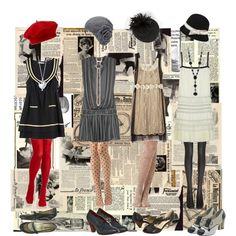 """Dream 1920s Wardrobe"" by lovelyrita on Polyvore"