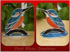 stained glass kingfisher - Google zoeken