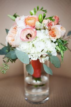 Bridesmaid Bouquet by Studio AG. Photo by Vrai Photography http://www.vraiphoto.com/