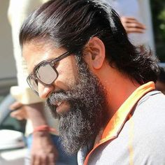 Image may contain: one or more people, beard and closeup Actor Picture, Actor Photo, Photo Background Images, Photo Backgrounds, Boys Beard Style, Prabhas Actor, Nyc Pics, Beard Haircut, Portrait Photography Men