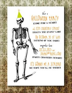 Free Printable Halloween Invitation Templates | Free Printable Halloween Invitations For Adults