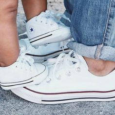 School idea? Matching mommy and son shoes...instead of mother and daughter jewelry?