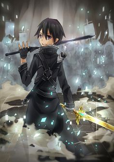 Get your favorite Sword art online characters here in Rykamall. We've prepared products of many kinds to satisfy your cravings for these special characters. Kirito Kirigaya, Kirito Asuna, Online Anime, Online Art, All Anime, Anime Manga, Anime Life, Anime Boys, Tous Les Anime