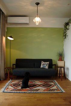 マンションの一室でも、戸建の住まいのような温かみある無垢材に包まれるインテリアは叶えられるんですよね。