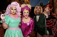 Kim Chi, Thorgy Thor, Bob the Drag Queen and Naomi Smalls